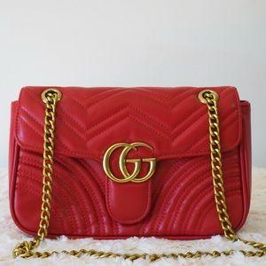 Gucci 11 x 7 x 4 RED